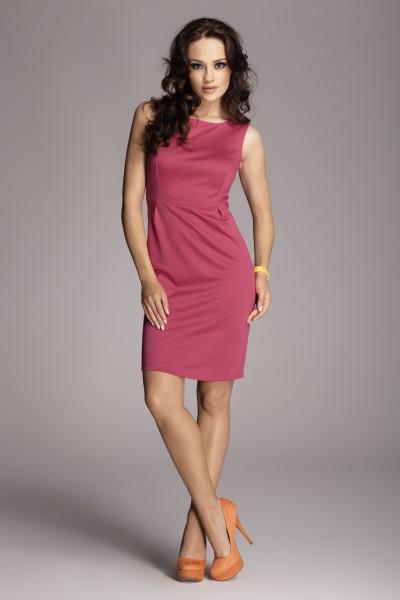 Dámské šaty Figl 79 purpurové - výprodej velikost S