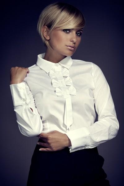 Košile Figl 1 bílá