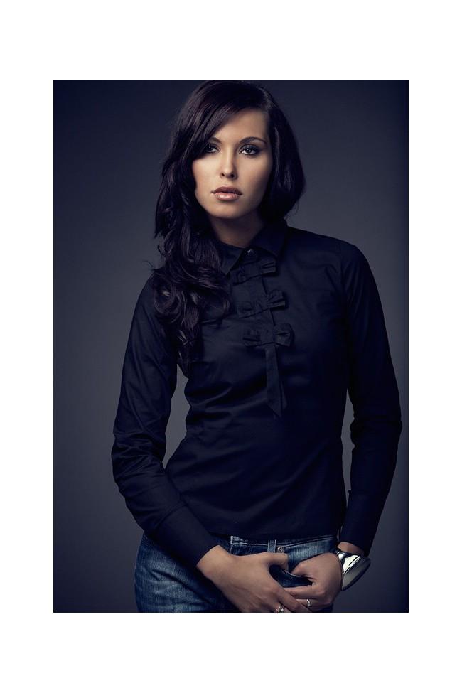 Košile Figl 1 černá