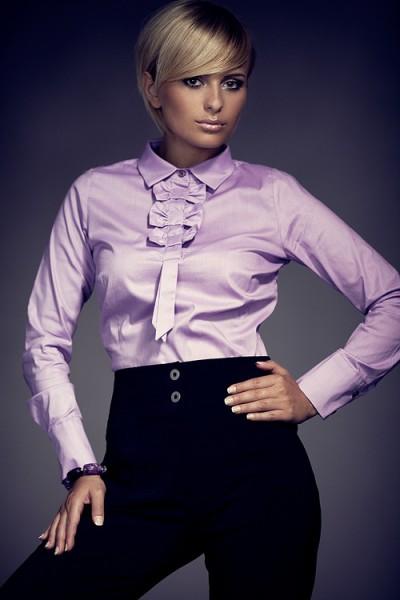 Košile Figl 1 fialová