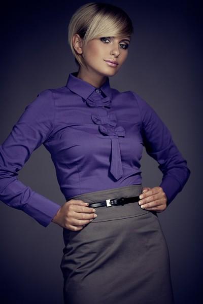 Košile Figl 1 indigo
