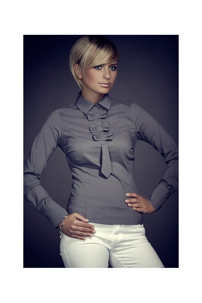 Košile Figl 1 šedá
