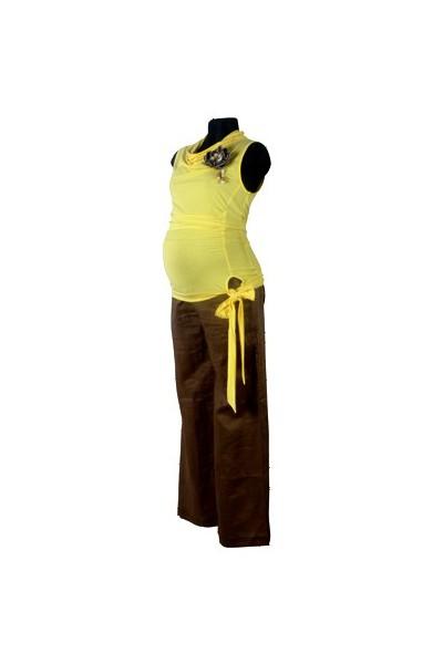 Těhotenské kalhoty Romana olive