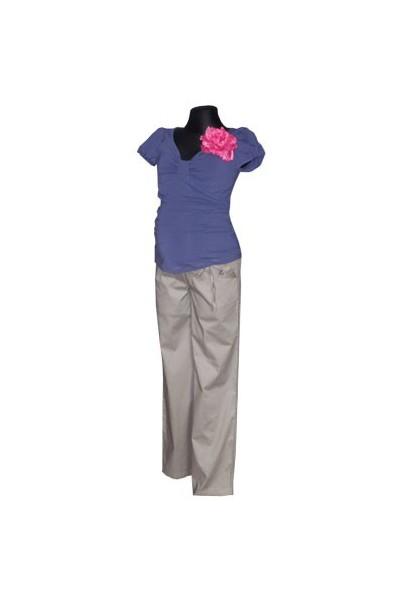 Těhotenské kalhoty Taylor grey
