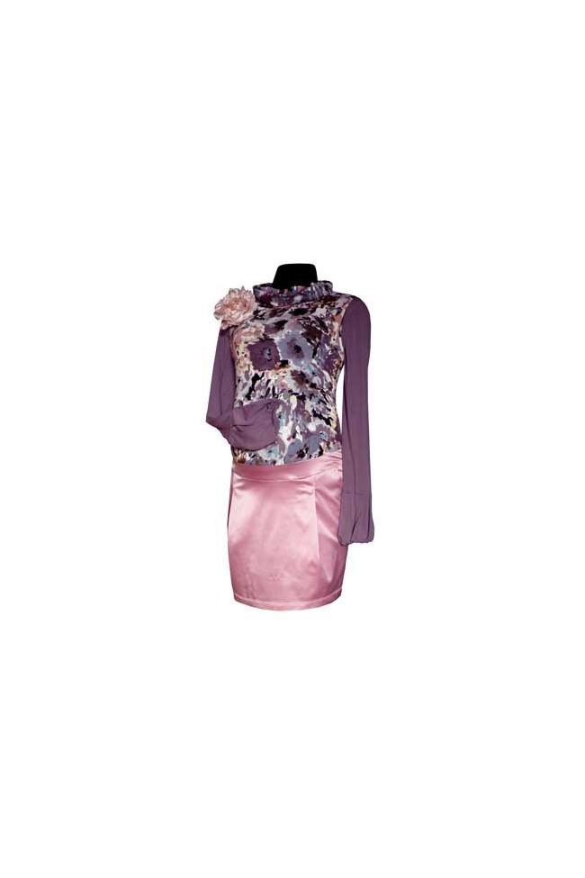 Těhotenské šaty Katy pink