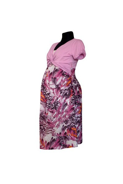 Těhotenské šaty Melanie pink