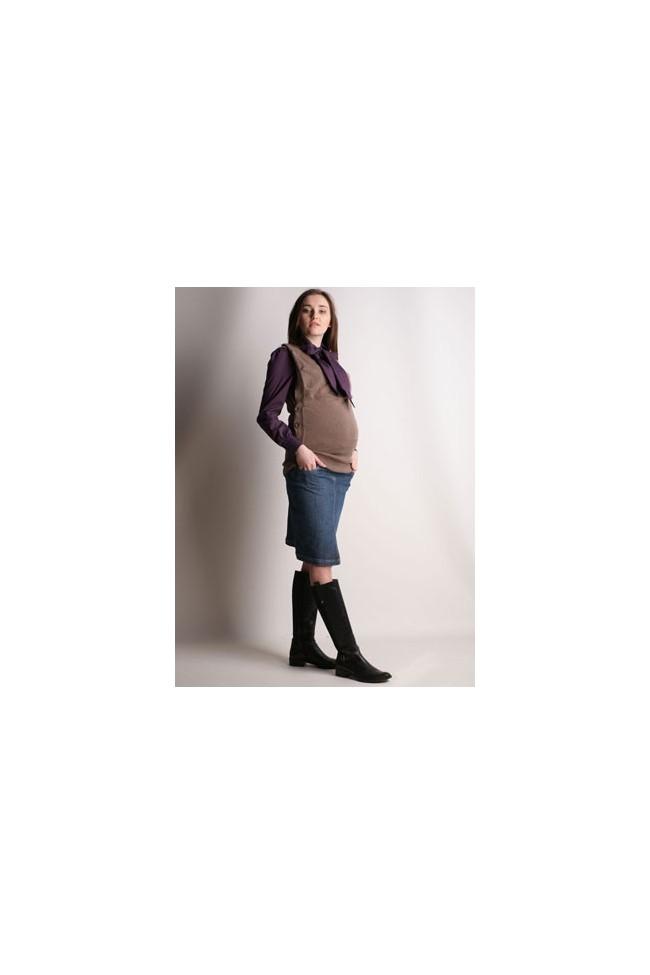 Těhotenská riflová sukně Abigail