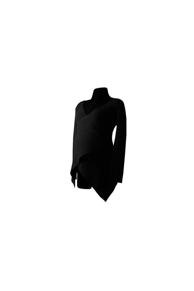 Těhotenský svetr Petra black