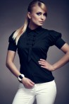 Košile Figl 8 černá