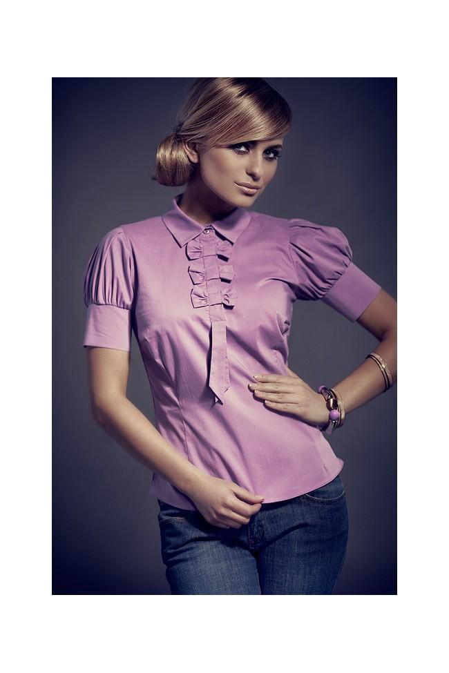 Košile Figl 8 fialová