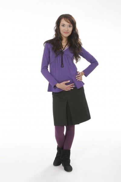 Těhotenské triko Viktorie purple