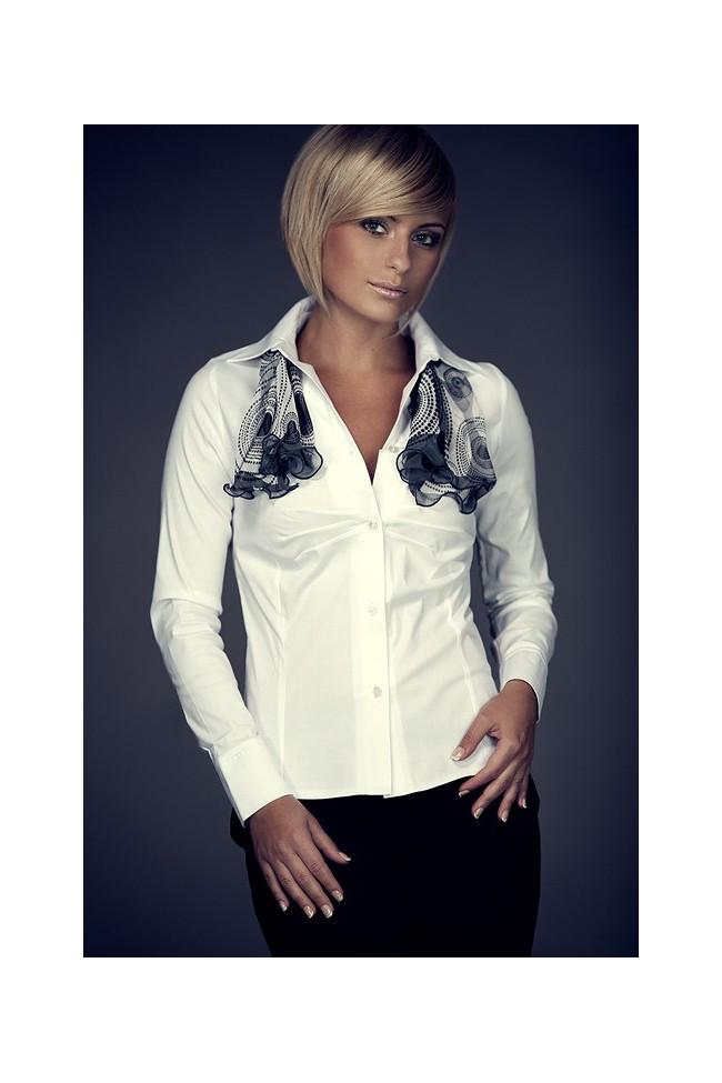 Košile Figl 21 bílá