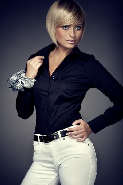 Košile Figl 21 černá