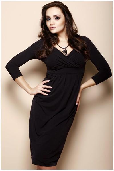 Šaty Figl 18 černé