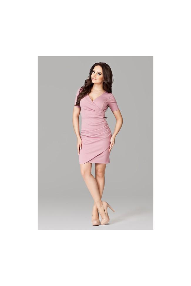 Dámské šaty Figl 106 růžové