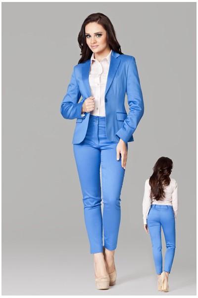 Dámské kalhoty Figl 109 modré