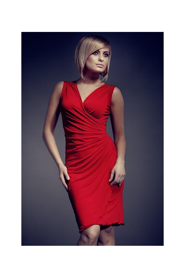 Dámské šaty Figl 53 červené