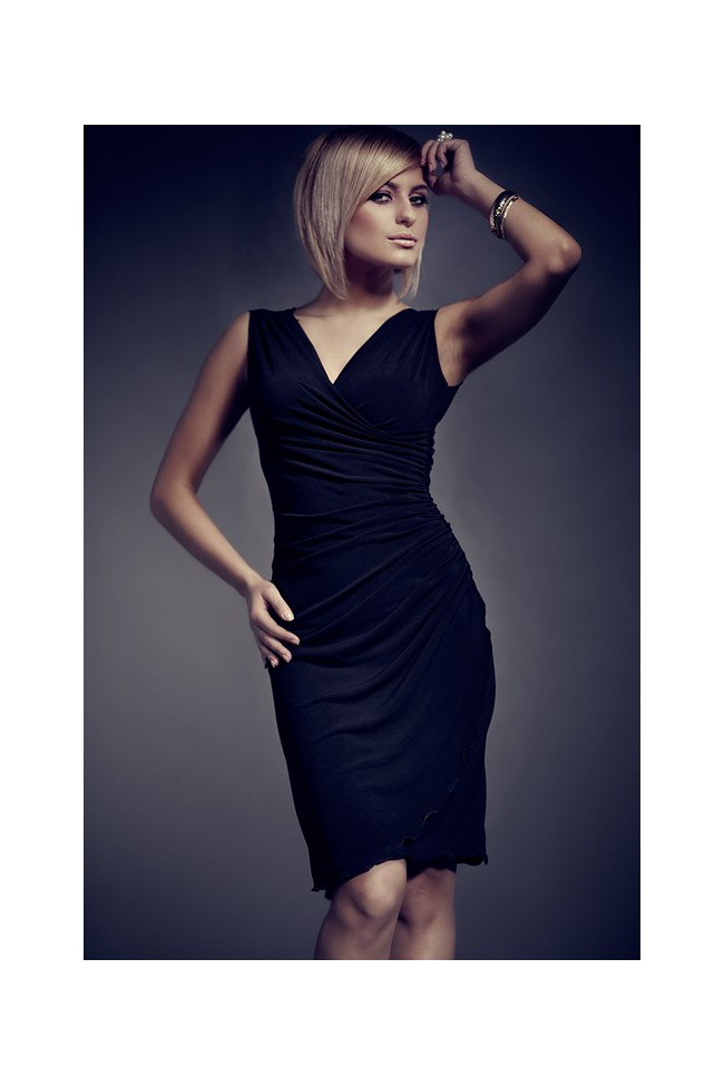 Dámské šaty Figl 53 černé