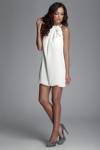 Dámské šaty Figl 65 slonovina