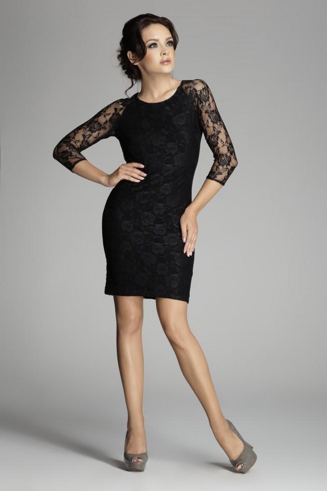 Dámské šaty Figl 76 černé