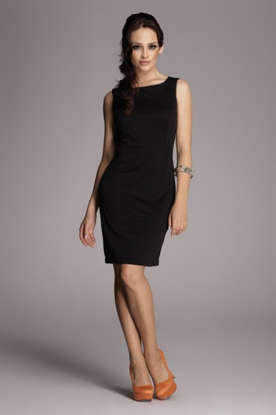 Dámské šaty Figl 79 black
