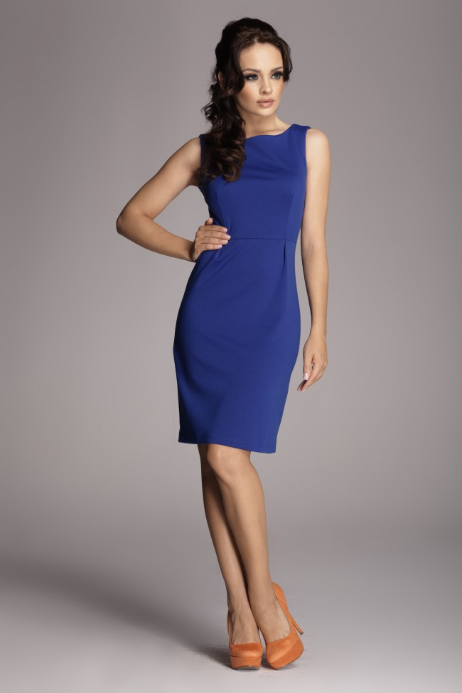 Dámské šaty Figl 79 modré