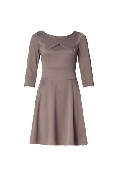Dámské šaty Figl 81 hnědé