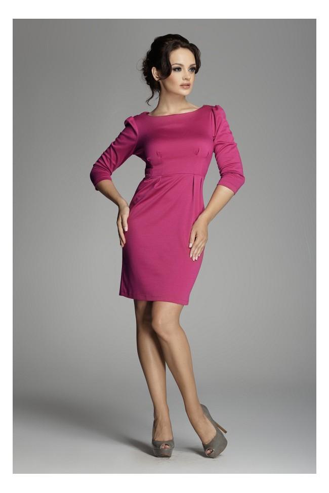Dámské šaty Figl 82 purple
