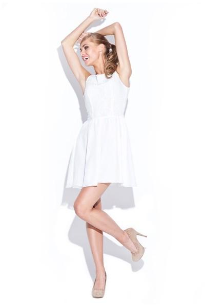 Figl dámské šaty M112 ecru