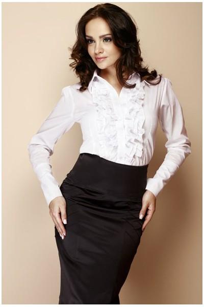 Košile Figl 12 bílá