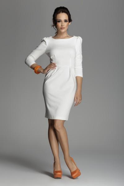 Dámské šaty Figl 82 slonovina