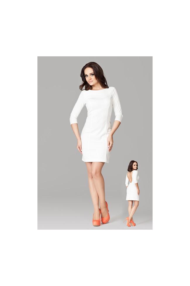 Dámské šaty Figl 104 slonovina