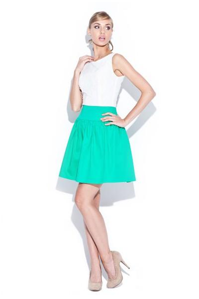 Dámská sukně Figl 114 zelená