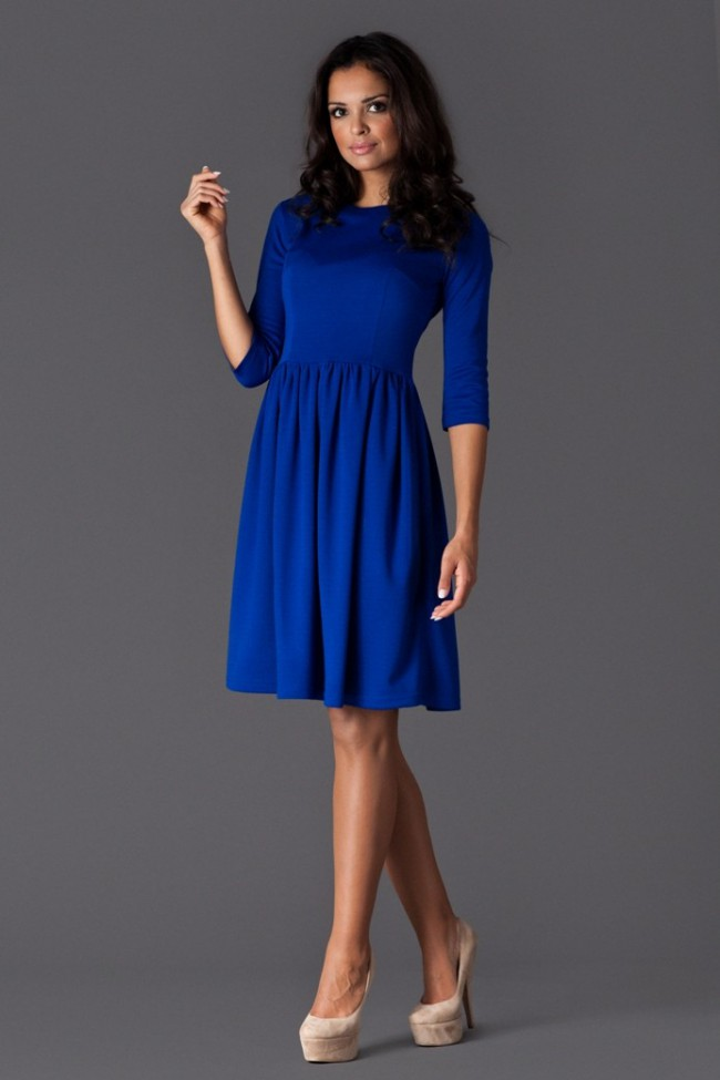 Dámské šaty Figl 117 modré