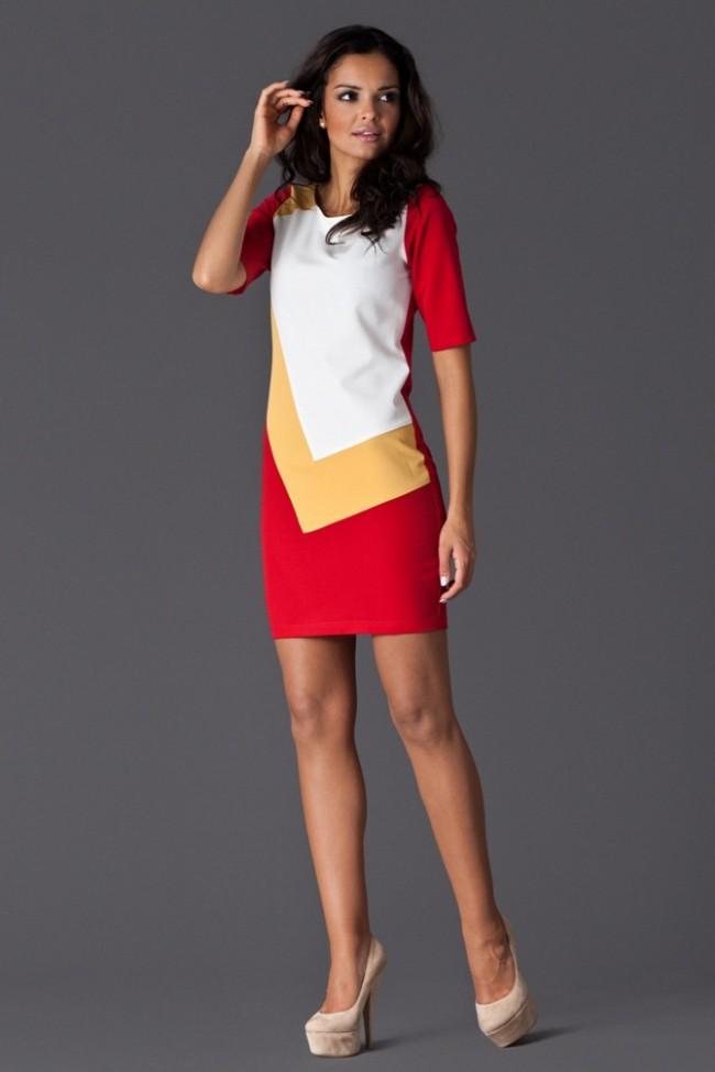 Dámské šaty Figl 118 červené