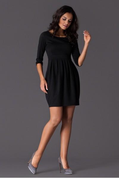 Dámské šaty Figl 122 černé