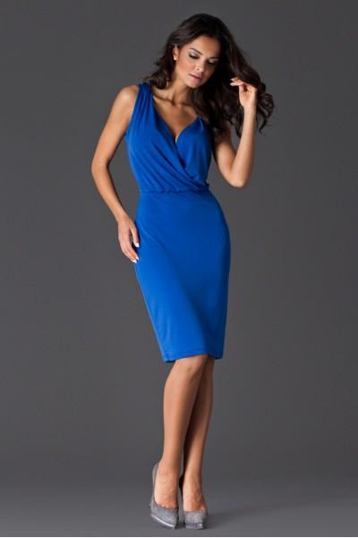 Dámské šaty Figl 135 modré