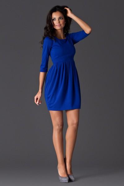 Dámské šaty Figl 122 modré