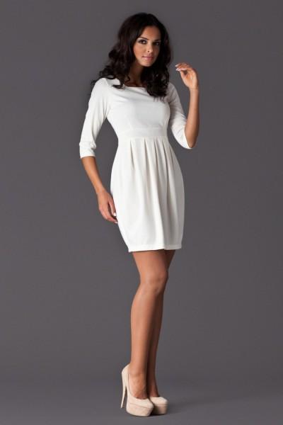 Dámské šaty Figl 122 bílé
