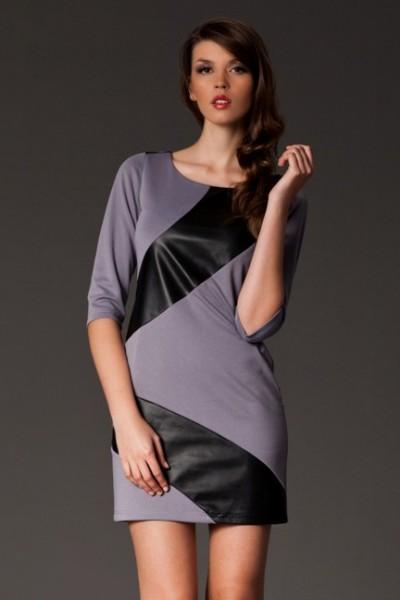 Dámské šaty Figl 149 šedé