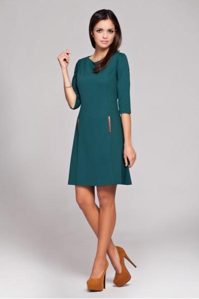 Dámské šaty Figl 145 zelené