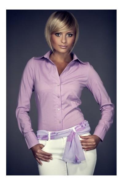 Košile Figl 21 fialová