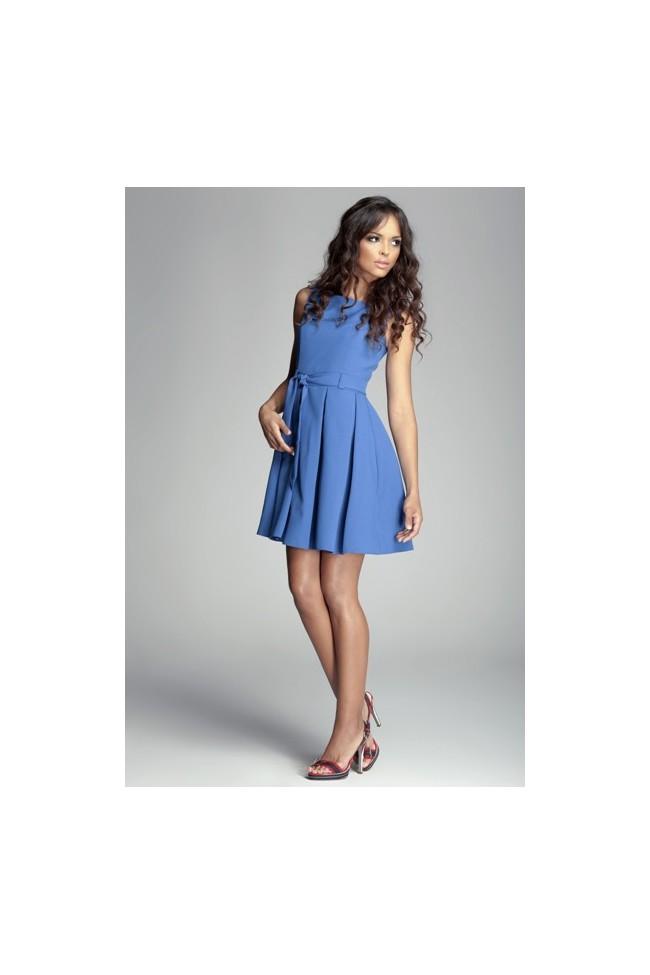 Dámské šaty Figl 83 modré