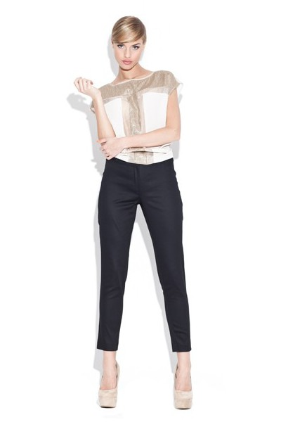 Dámské kalhoty Figl 109 černé