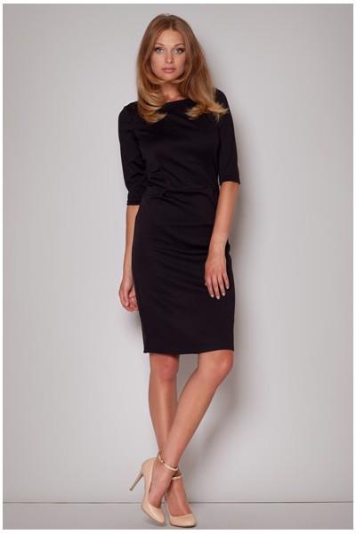 Dámské šaty Figl M202 černé