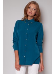 Dámská košile Fígl M212 modrá