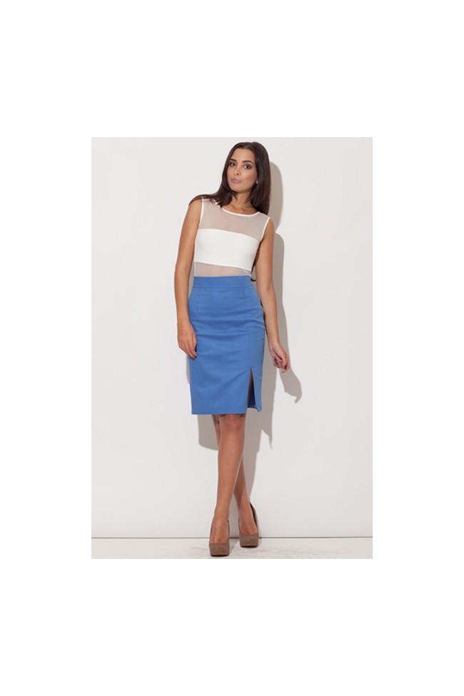 Dámská sukně Figl M207 modrá