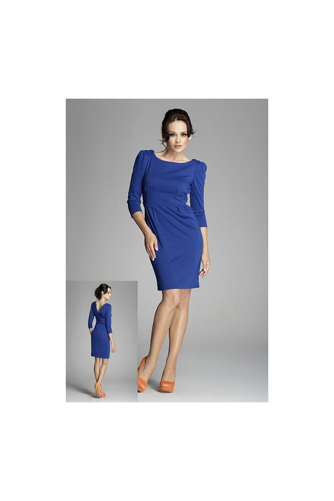 Dámské šaty Figl 82 modré