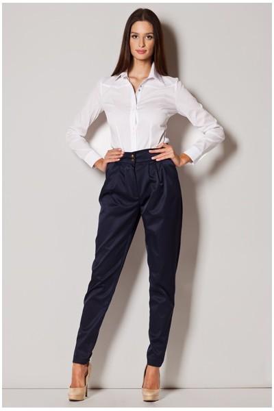 Dámské kalhoty Figl M227 granátová