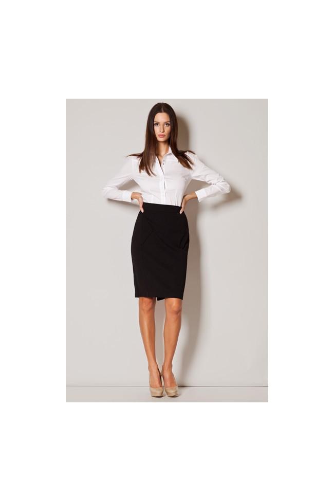 Dámská sukně Figl M229 černá
